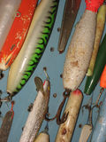 Fish Lures Stock Image