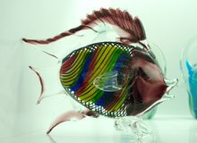 Fish made of glass