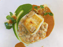 Fish main course Stock Image