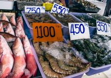 Fish market Royalty Free Stock Photos