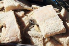 Fish market bergen Norwegian city Stock Image