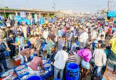 Fish market in Chittagong, Bangladesh