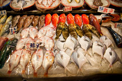 Fish market Stock Photos