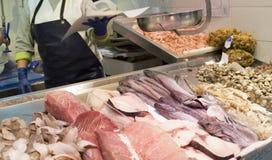 Fish market food Stock Photos