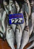 Fish market, Galata waterfront, Istanbul Stock Images