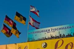 Fish Market, Hamburg St. Pauli Stock Image