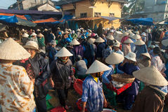 The fish market of Hoi An, Vietnam Royalty Free Stock Image