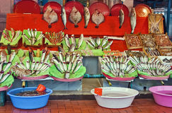 Fish market, Istanbul Stock Photography
