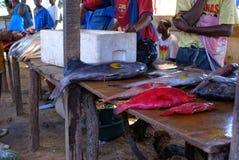 Fish Market. In Maputo, Mozambique Stock Photos