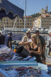 Fish Market - Marseille - South of France Stock Photo