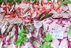 Fish market. The Mediterranean, Europe Stock Photography