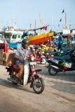 Fish market in Mirissa Stock Photo