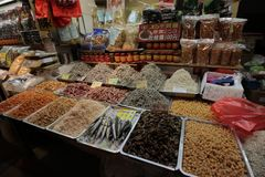 Fish Market near Yehliu Geopark, Taipei, Taiwan stock image