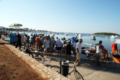 Fish market salento Stock Image