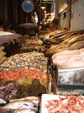Fish market, Santiago de Chile Royalty Free Stock Photo