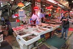 Fish market shop in Hong Kong Royalty Free Stock Photography