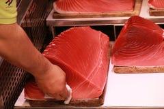 Big Fish Sale. Tokyo Market Japan Stock Images