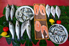 Fish Market in Turkey Stock Image