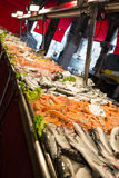 Fish market in Venice, Italy. Stock Photos