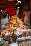 Fish market in Venice, Italy. Royalty Free Stock Photo