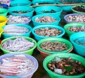 Fish market in Vietnam Stock Image