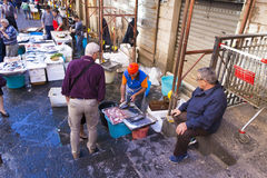 Fish market Royalty Free Stock Photo