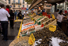 Fish Marquet in Marseille Royalty Free Stock Image