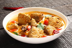 Fish masala curry Stock Image