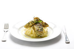 Fish & Mash 3 Royalty Free Stock Photos