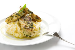 Fish & Mash 4 Royalty Free Stock Image