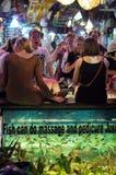 Fish Massage Royalty Free Stock Photos