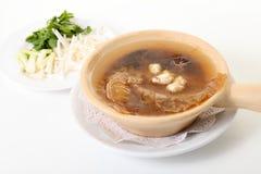 Fish maw soup Stock Photo