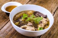 Fish Maw Soup Stock Photos