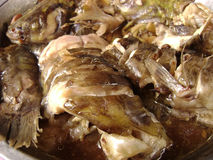 Fish meal - Chinese style cook fish Royalty Free Stock Photography