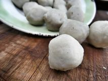 Fish meat ball Stock Images