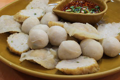 Fish meat ball Royalty Free Stock Image