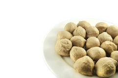 Fish meat ball royalty free stock images