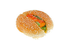 Fish meat bread Royalty Free Stock Image