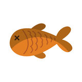 Fish meat isolated icon. Illustration design Royalty Free Stock Image
