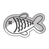 Fish meat isolated icon. Illustration design Stock Photo