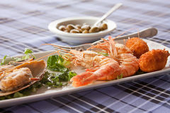 Fish meze Stock Photography