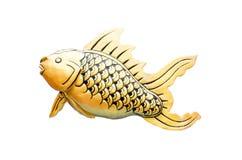 Fish model. Art sea gold fish model thailand Royalty Free Stock Image