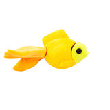 Fish modelling clay on a White Background Stock Image