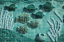 Fish Mural Royalty Free Stock Photos