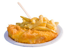 Fish 'n chips Stock Photos