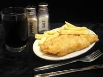 Fish'ne chips Photos libres de droits