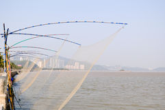 Fish net Stock Photo
