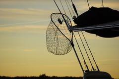 Fish net. Royalty Free Stock Photography