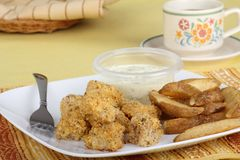 Fish Nugget Meal Stock Images