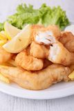 Fish nuggets Royalty Free Stock Photos